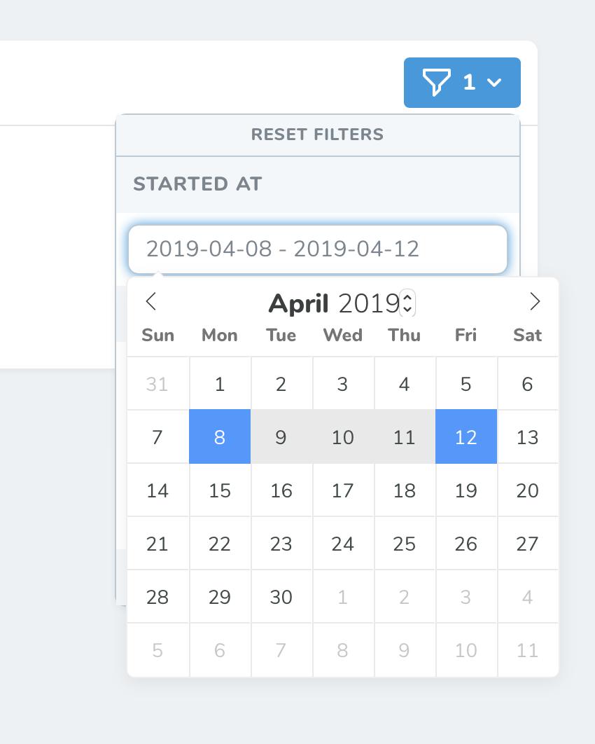 Nova Date Range Filter - Nova Packages